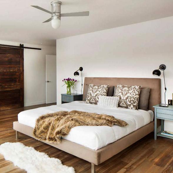 Breezy bedrooms