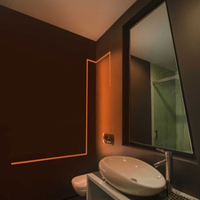 vanity wall recessed lighting bathroom mirrors lighting