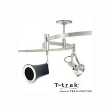 Bendable 120 Volt Track Systems by Tech Lighting