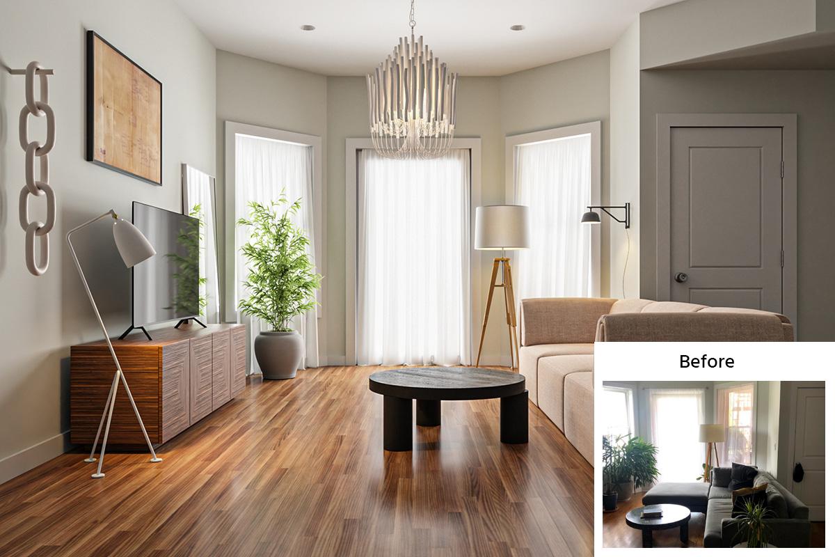Room Rendering Example 4