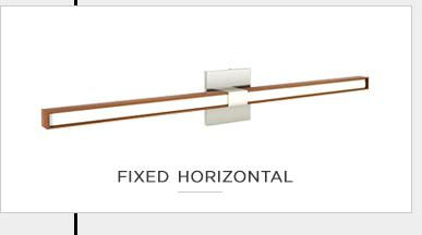fixed horizontal