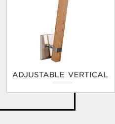 adjustable vertical - top