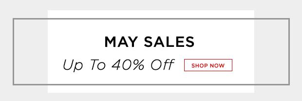 May Sales Banner
