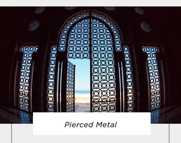 Pierced Metal