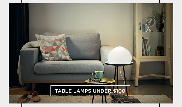 Table lamps under 100