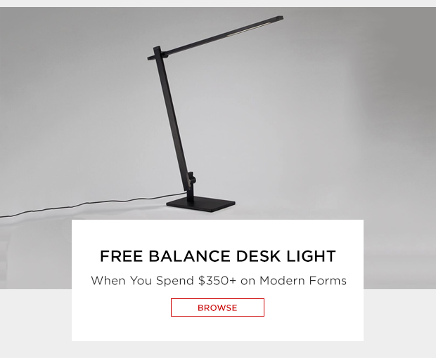 Free balance desk light