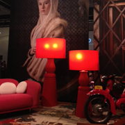 Moooi Red Lamps