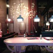Moooi Suspensions Over Table