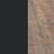 Matte Black / Weathered Oak