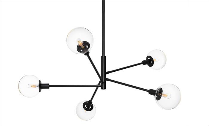 Orb Vectors Pendant by Sonneman