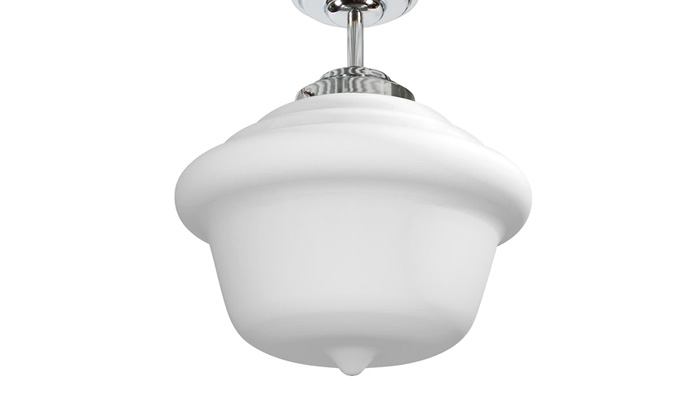 Schoolhouse LED Ceiling Semi Flush Mount by Stone Lighting