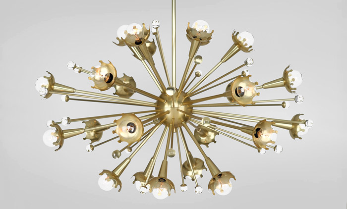 Sputnik Chandelier by Jonathan Adler