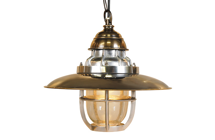 Steamer Deck Lamp Pendant by Authentic Models