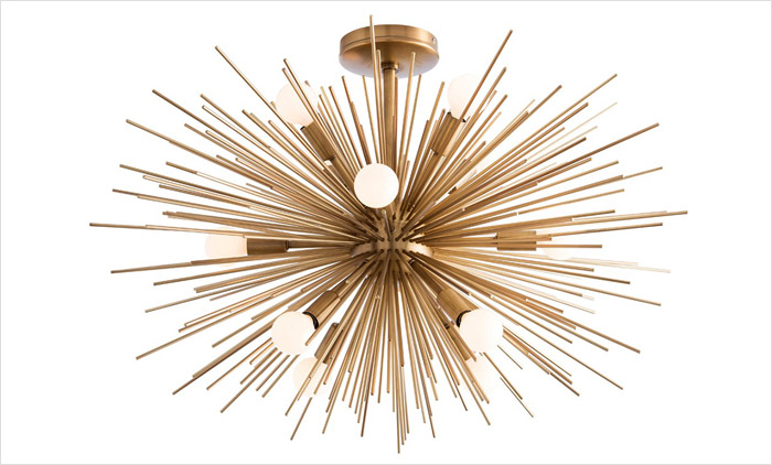 Zanadoo Semi-Flush Ceiling Light Fixture by Arteriors Home