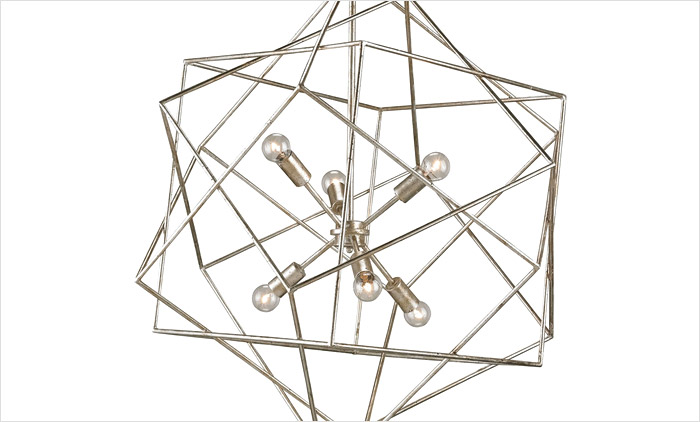 The Aerial Chandelier by Currey & Company