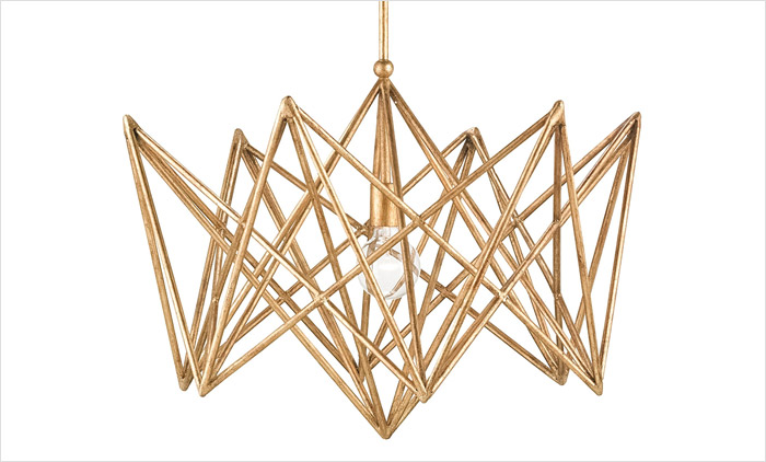 Forum Chandelier by Currey & Company