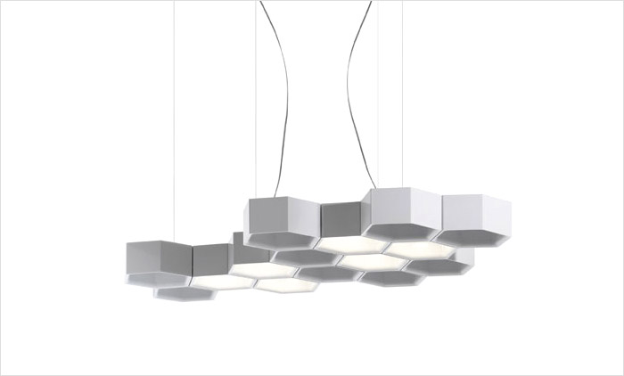 Honeycomb Pendant by Luce Plan USA