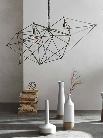 Maquette Tall Single Chandelier by Roost