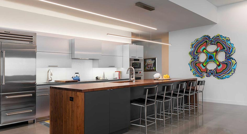 Kitchen Design Lighting Interior