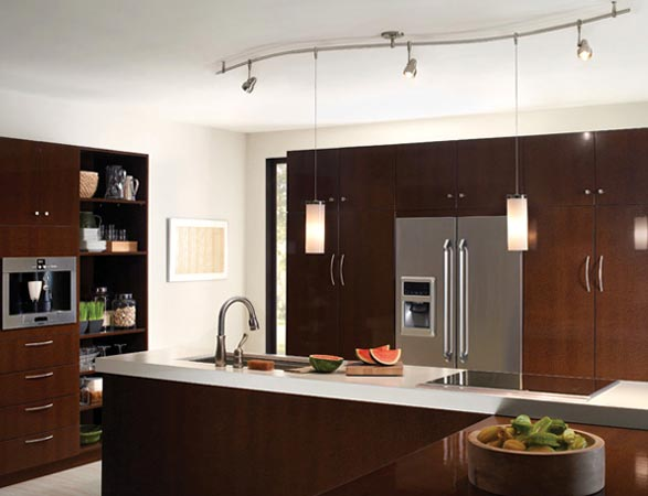 kichen lighting vintage monorail lighting system with heads and pendants how to light kitchen lightology