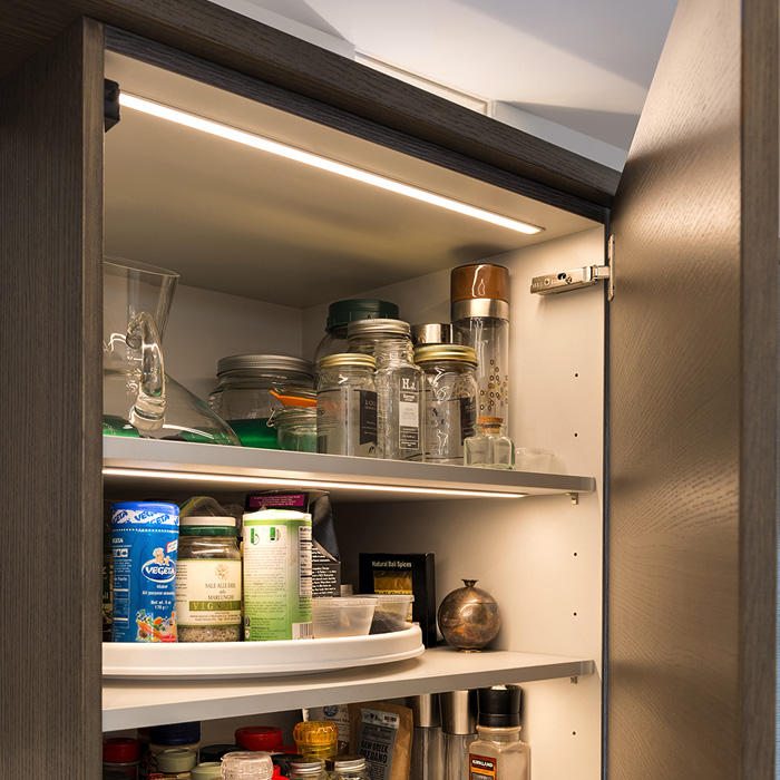 Lighting Cabinet Interiors