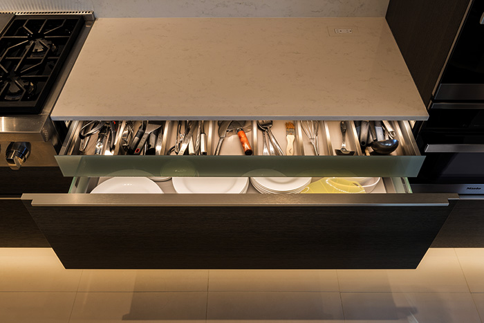 Lighting Inside Drawers with Soft Strip