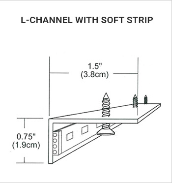 L-Channel Soft Strip