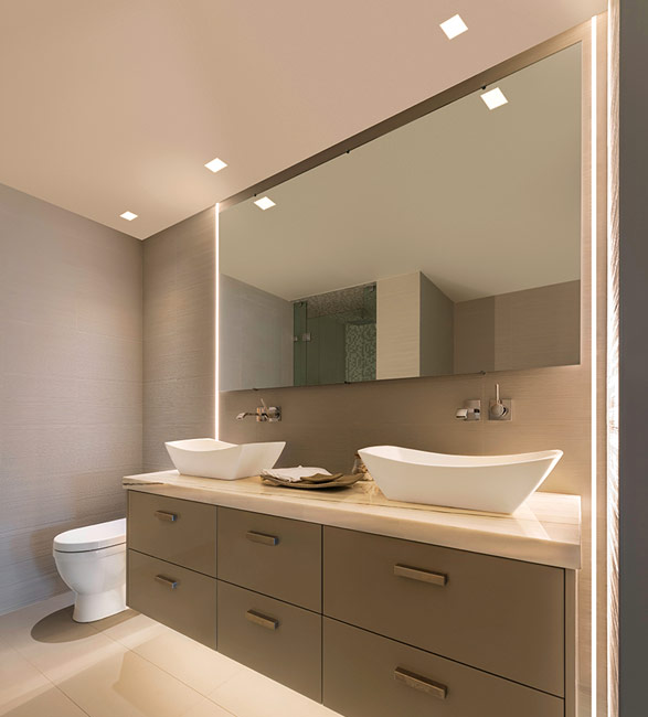 How To Light A Bathroom Lighting Ideas Tips: New Recessed Lighting: Dots & Dashes