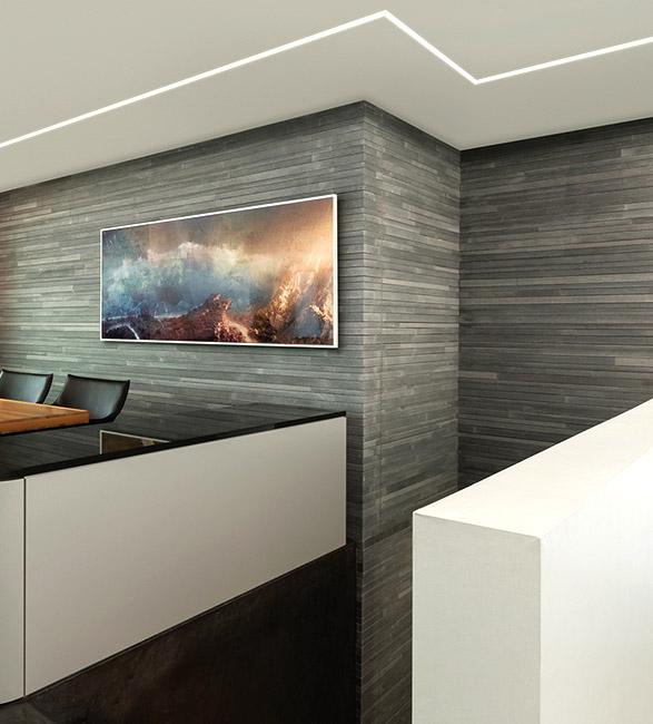 New recessed lighting dots dashes lightology wall lighting aloadofball Choice Image