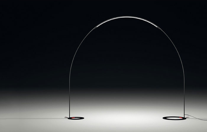 Halley Arc Outdoor Floor Lamp