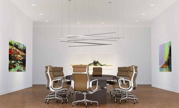 Cirrus Channel Suspension by PureEdge Lighting