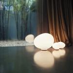 Gregg Grande Table Lamp - White / White