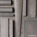 Twist Basket Bell Pendant - Dark Smoke / Stone