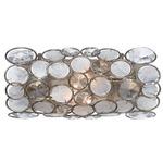 Palla Bathroom Vanity Light - Antique Silver /