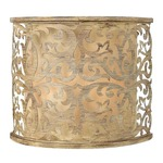 Carabel Wall Light - Brushed Champagne / Ivory
