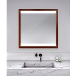 Celebration Lighted Mirror - Cherry Wood / Mirror