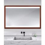 Celebration Lighted Mirror - Cherry Wood / Mirror