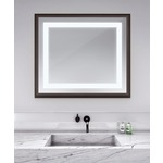 Momentum Lighted Mirror - Espresso / Mirror