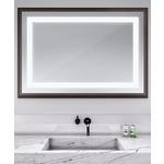 Momentum Lighted Mirror - Espresso / Mirror