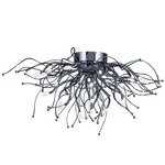 Orion Ceiling LED Light Fixture - Polished Chrome /