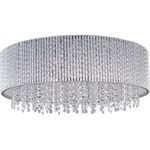 Spiral Flush Mount - Polished Chrome /