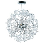 Zest Pendant - Polished Chrome /