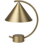 Meridian Portable Table Lamp - Brass