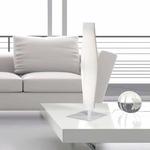 Mobile Table Lamp - White / White