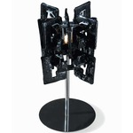 Sixty Small Table Lamp - Polished Chrome / Black