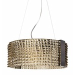 Cocco Suspension - Polished Chrome / Light Tobacco
