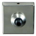 FreeJack Port with 2 inch Square Canopy  - Satin Nickel /