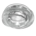 Spira 3.5IN Downlight Trim / Chicago Plenum Housing - Chrome / Genuine Crystal