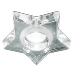 Star 3.5IN Downlight Trim / New Construction IC Housing - Chrome / Genuine Crystal