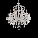 Casablanca Way Chandelier -  / White